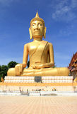 Big statue image of buddha Royalty Free Stock Images