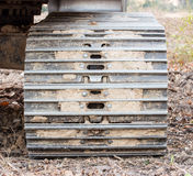 Big steel wheels Stock Photography