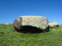 Big Stone And Sky Royalty Free Stock Images