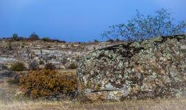 A canyon stone. Big stone at Arbuzinskiy Canyon, Nikolaev region, Ukraine Stock Photos