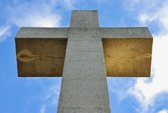 Big Stone Cross Stock Photography