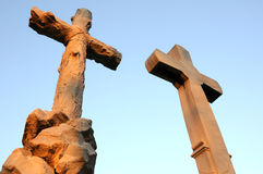 Big Stone Cross Stock Images
