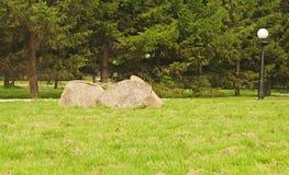 Big stone Stock Image