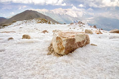 A big stone on the Hill Stock Photography
