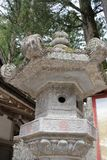 Big stone lanterns in Nikko Stock Images