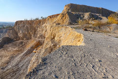 Big stone quarry in Serbia Royalty Free Stock Images