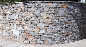 Big stone wall Royalty Free Stock Images