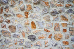 Big stone wall texture and background Royalty Free Stock Images