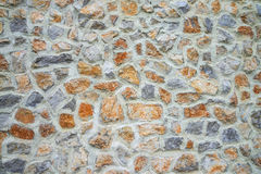 Big stone wall texture and background Stock Photo