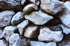 Big stone wall texture Royalty Free Stock Images