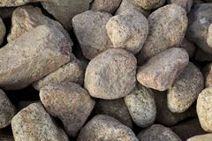 Big stones boulders of different forms.  stock images