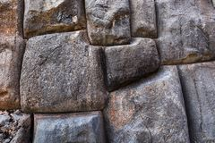 Big stones in an old masonry Stock Photo