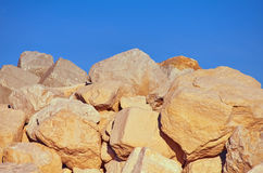 Big Stones. Under the Sky Stock Images