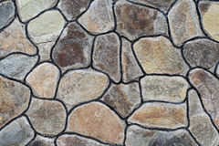 Big stones wall Stock Images