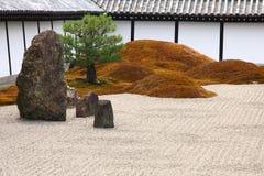 Big stones in zen garden Royalty Free Stock Photography