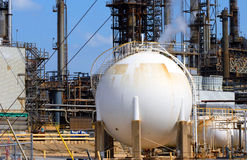 Big Storage Tank Stock Photo