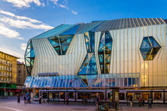 Big store house Printemps in Strasbourg. Royalty Free Stock Images