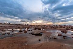 A big storm on the beach. Israel Stock Photos