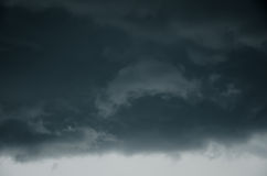 Big storm cloud Royalty Free Stock Photo