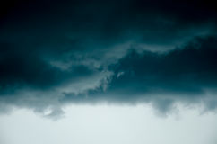 Big storm cloud Royalty Free Stock Images