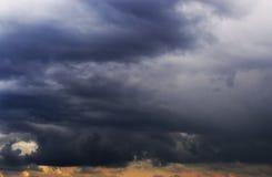 Big storm clouds Royalty Free Stock Photos