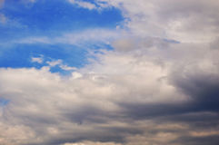 Big storm clouds Royalty Free Stock Photography