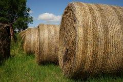 Big straw bales Royalty Free Stock Photos