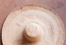 Big Straw hat Stock Photography