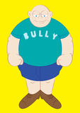 Big and strong school bully Royalty Free Stock Images