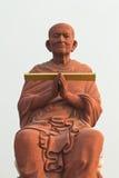 Big stucco buddha Stock Image
