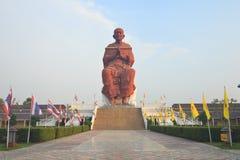 Big stucco buddha Royalty Free Stock Photo