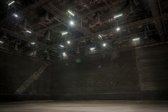 The big studio for make The set in Movie image. Big studio for make The set in Movie image Stock Photos