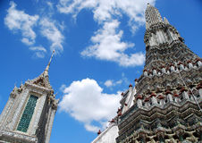 Big stupa of Wat Arun Royalty Free Stock Photography
