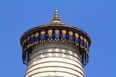 The big Stupa of Wutai Shan Stock Photo