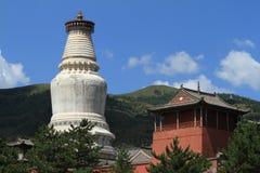 The big Stupa of Wutai Shan Royalty Free Stock Image