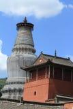 The big Stupa of Wutai Shan Stock Image