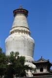 The big Stupa of Wutai Shan Royalty Free Stock Photos