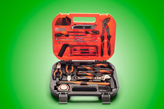 The big suitcase with tools Stock Images