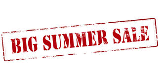 Big summer sale Royalty Free Stock Image