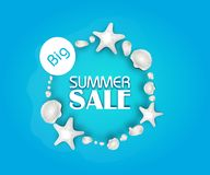 Big Summer Sale Royalty Free Stock Photo