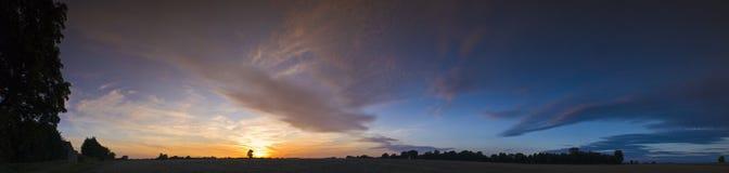 Big summer sunset Royalty Free Stock Photo