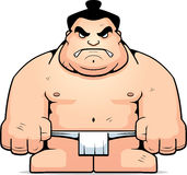 Big Sumo Wrestler Royalty Free Stock Photography