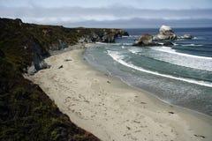 Big Sur. The Big Sur coastline in central California Royalty Free Stock Photos