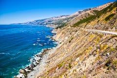 Big Sur. In Central California Royalty Free Stock Photos