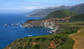 Big sur. Coastline and pacific highway Stock Photo