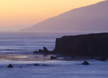 Big Sur Fotografia Stock