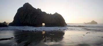 Big Sur Beach Stock Photo