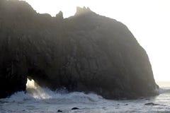 Big Sur Beach Stock Image