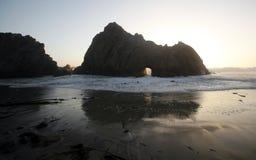 Big Sur Beach, California Stock Images