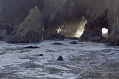 Big Sur Beach Stock Images